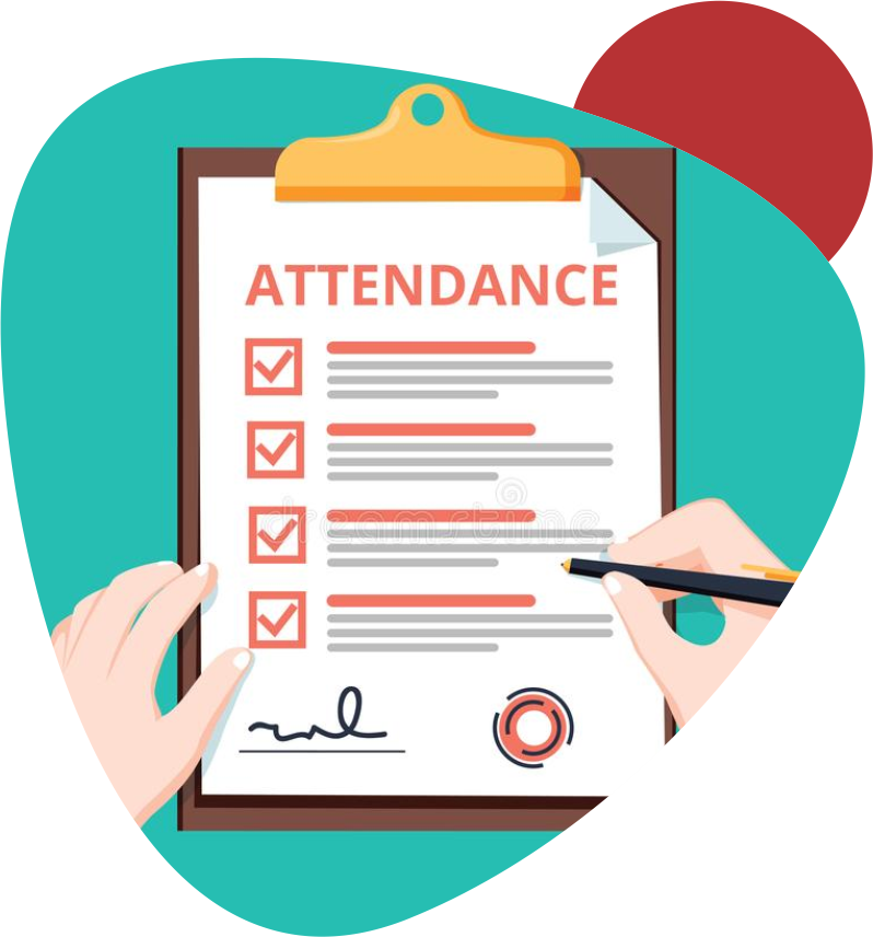 attendence management simple